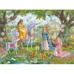 Puzzle  Ravensburger-10402 Pièces XXL - Princesses