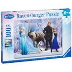Puzzle  Ravensburger-10516 Pièces XXL - La Reine des Neiges