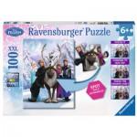 Puzzle  Ravensburger-10557 La Reine des Neiges : Trouvez les 9 Différences