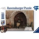 Puzzle  Ravensburger-10598 Pièces XXL - Une Cloche pour Ursli
