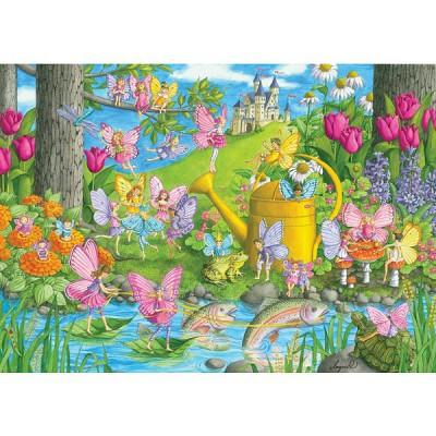 Puzzle Ravensburger-10602 Le Jardin Magique
