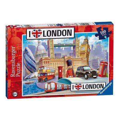 Puzzle Ravensburger-10607 Londres