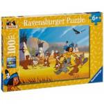 Puzzle  Ravensburger-10626 Yakari s'amuse