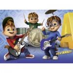 Puzzle  Ravensburger-10712 Pièces XXL - Alvin et les Chipmunks