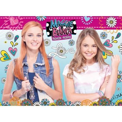 Puzzle Ravensburger-10714 Pièces XXL - Maggie & Bianca