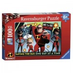 Puzzle  Ravensburger-10716 Pièces XXL - Disney Pixar The Incredibles 2