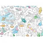 Ravensburger-10752 Color Puzzle - Le Monde sous l'Eau
