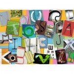 Puzzle  Ravensburger-10761 Pièces XXL - Alphabet Drôle