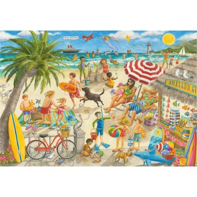 Puzzle Ravensburger-10842 Pièces XXL - Sunshine at Shelly's
