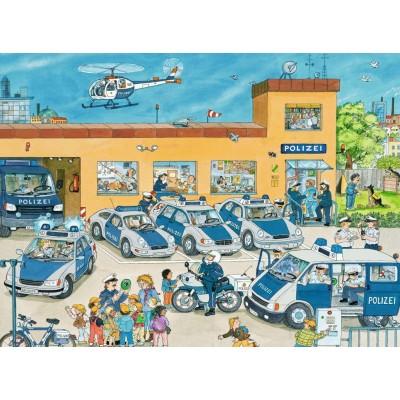 Puzzle Ravensburger-10867 Pièces XXL - Au Commissariat