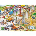 Puzzle  Ravensburger-10896 Gigantesque chantier