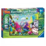 Ravensburger-10916 Puzzle 100 pièces XXL - Promenade à cheval