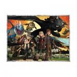 Puzzle  Ravensburger-10918 Pièces XXL - Dragons