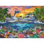Puzzle  Ravensburger-10950 Pièces XXL - Paradis Tropical