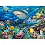 Puzzle  Ravensburger-10951 Pièces XXL - Requin