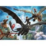 Puzzle  Ravensburger-10955 Pièces XXL - Dragon
