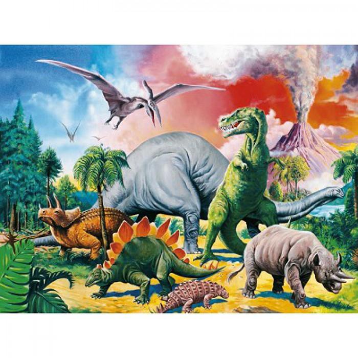Au milieu des dinosaures