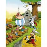 Puzzle  Ravensburger-10958 Astérix et Obélix : Obélix écolier