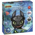 Ravensburger-11145 Puzzle 3D - DreamWorks - Dragon