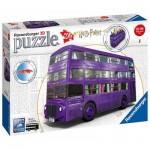 Ravensburger-11158 Puzzle 3D - Harry Potter - Magicobus