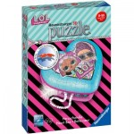 Ravensburger-11164 Puzzle 3D - Boîte Coeur - LOL Surprise!
