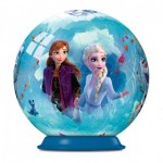 Ravensburger-11182-01 Puzzle Ball 3D - La Reine des Neiges II