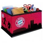 Ravensburger-11216 Puzzle 3D - Boite FC Bayern