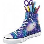 Ravensburger-11219 Puzzle 3D - Sneaker - Galaxy Design