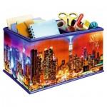 Ravensburger-11227 Puzzle 3D - Boite de Rangement : Skyline