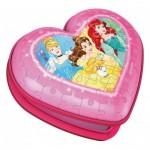 Ravensburger-11234 Puzzle 3D - Boite Coeur - Disney Princess