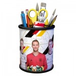 Ravensburger-11240 Puzzle 3D - Pot à Crayons - Die Mannschaft