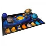 Ravensburger-11668 8 Puzzles 3D - Planètes du Système Solaire