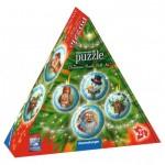 Ravensburger-11678 Puzzle 3D - Boules de Noël