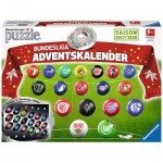 Ravensburger-11695 Puzzle 3D - Calendrier de l'Avent - Bundesliga