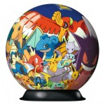 Ravensburger-11785 Puzzle Ball 3D - Pokemon