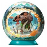 Ravensburger-11793 Puzzle Ball 3D - Vaiana