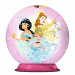 Ravensburger-11809 Puzzle Ball 3D - Disney Princess