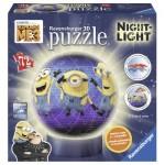 Ravensburger-11821 Puzzle 3D avec LED - Minions
