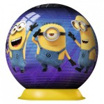 Ravensburger-11826 Puzzle Ball 3D - Minions