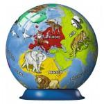 Ravensburger-11840 Puzzle Ball 3D - Mappemonde pour Enfant