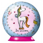 Ravensburger-11841 Puzzle Ball 3D - Be Unicorn