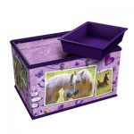Ravensburger-12072 Puzzle 3D - Girly Girls Edition - Coffret : Chevaux