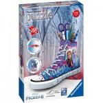 Ravensburger-12121 Puzzle 3D - Sneaker - La Reine des Neiges II