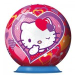 Ravensburger-12213 Puzzle Ball - Hello Kitty