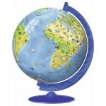 Ravensburger-12339 Puzzle Ball 3D - Mappemonde en Français