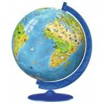 Ravensburger-12340 Puzzle Ball 3D - Mappemonde en Italien