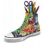 Ravensburger-12535 Puzzle 3D - Sneaker Graffiti