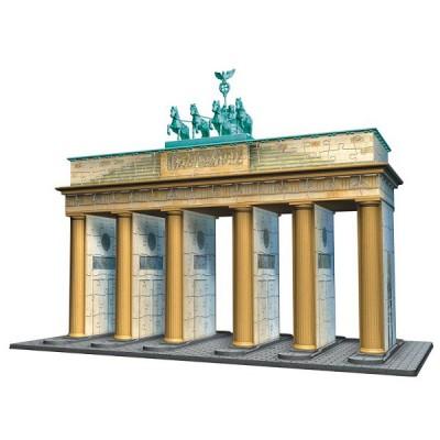 Ravensburger-12551 Puzzle 3D : 324 pièces : Porte de Brandebourg, Berlin