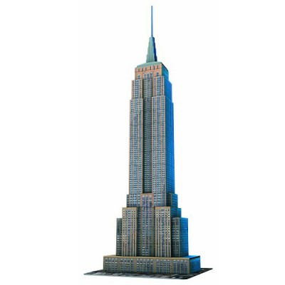 Ravensburger-12553 Puzzle 3D - Empire State Building, New York