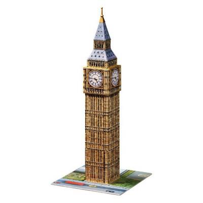 Ravensburger-12554 Puzzle 3D - Big Ben, Londres